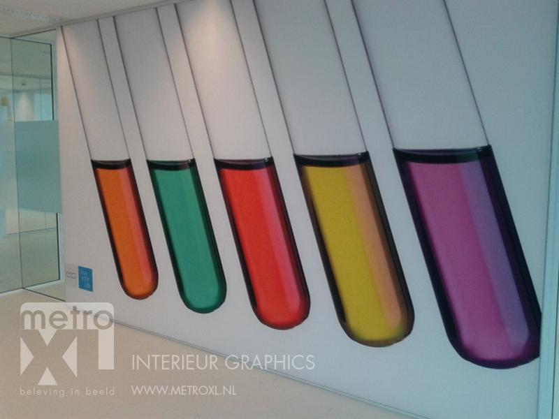 Spanframe aluminium polyester decoratie doek - Tapijt tegel metro ...