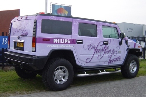 Autoreclame full color wrap