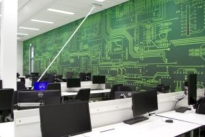 Interieur decoratie maatwerk fullcolour prints vakkundig