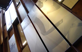 Aluminium panelen zeefdruk metroxl - Tapijt tegel metro ...