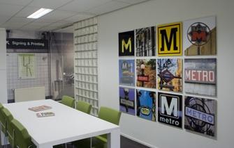 Professioneel printbedrijf met kwaliteitsproducten metroxl - Tapijt tegel metro ...