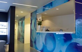 Glazen voorzetwanden met zelfklevende fotoprint metroxl - Tapijt tegel metro ...