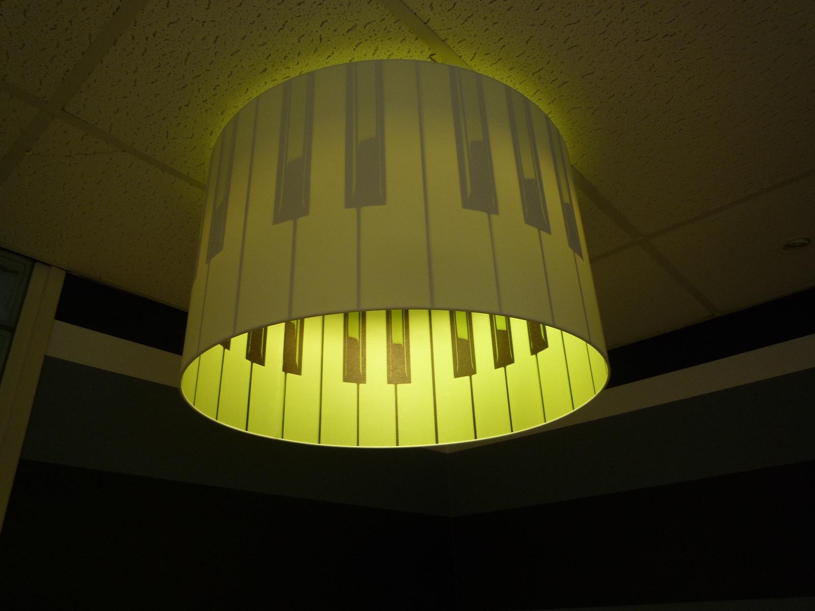 Lampenkap met print - Interieur decoratie ontwerp ...