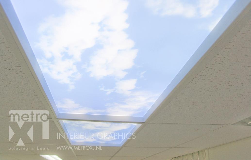 plafond panels met verlichting led
