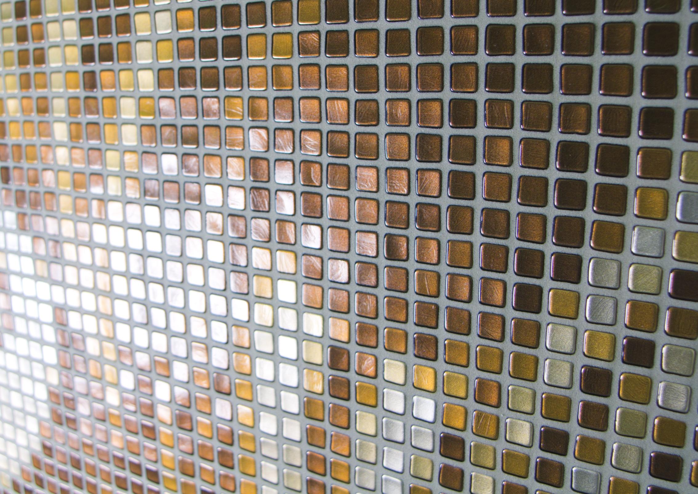 Italiaans glasmozaiek look metroxl - Tapijt tegel metro ...