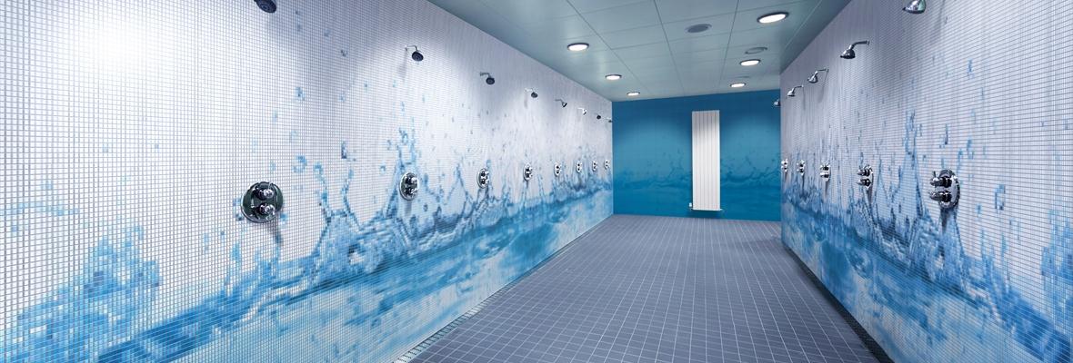 Mozawall mozaiek tegels nieuw metroxl - Decoratie douche badkamer ...