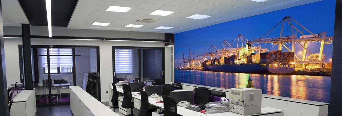 Lumiwall op kantoor metroxl - Kantoor interieur decoratie ...
