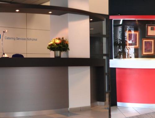 KLM Catering service balie gerenoveerd