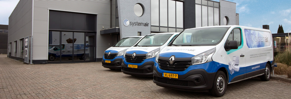 Autobelettering Systemair