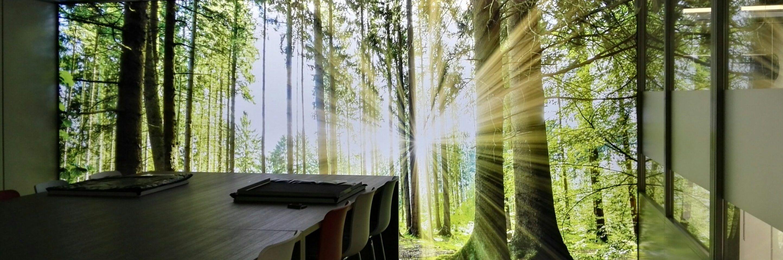 verlichte_wandprint