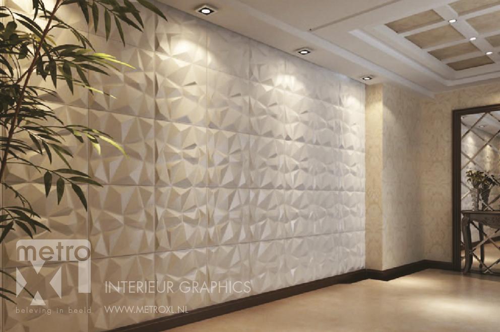 3d wandpanelen metroxl - Decoratie van het interieur ...