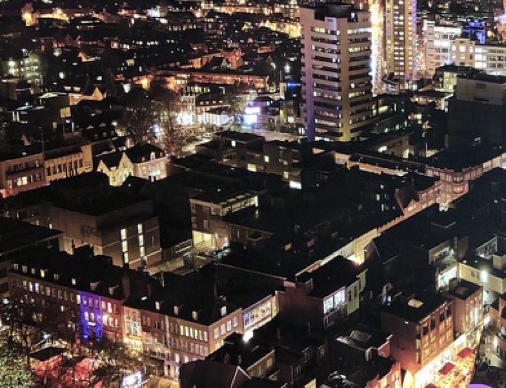 Sprankelende Lumiwall® geplaatst in kantoor Eindhoven