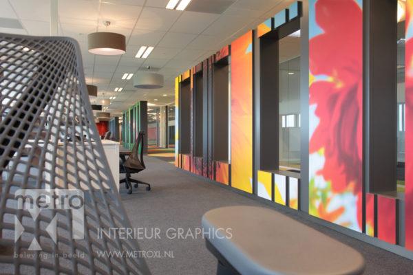 interieur print kantoor