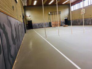 pulastic sound wall gymzaal Heerenveen