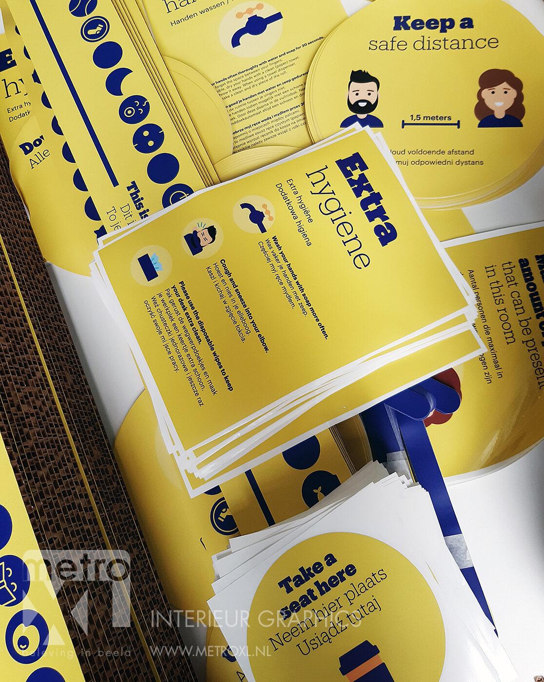 bol.com covi-19 corona stickers