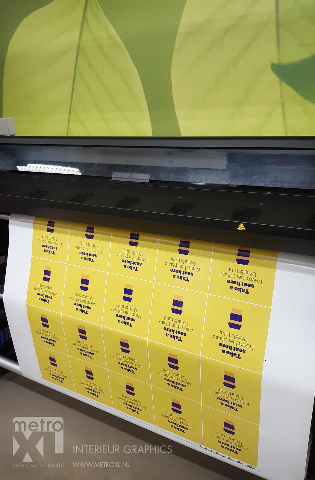 bol.com covid-19 corona siging printer MetroXL