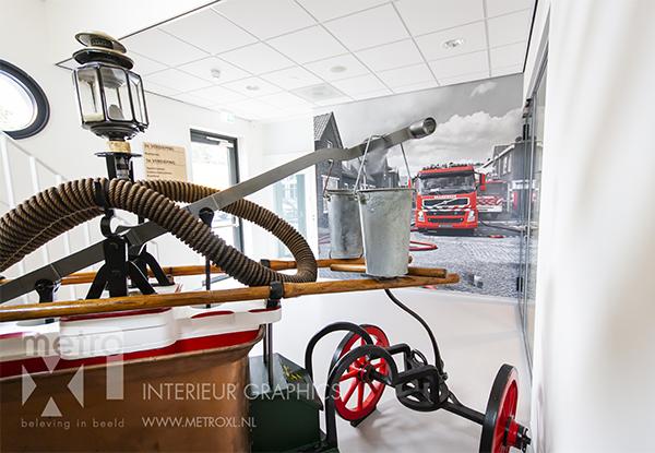 fotowanden brandweerkazerne Waalwijk door MetroXL