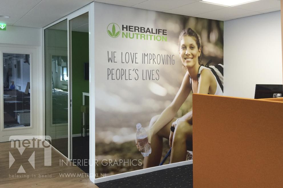 Interieur print Herbalife Nutrition