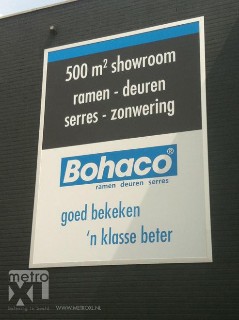 Buitengevel Bestickering Bohaco sticker