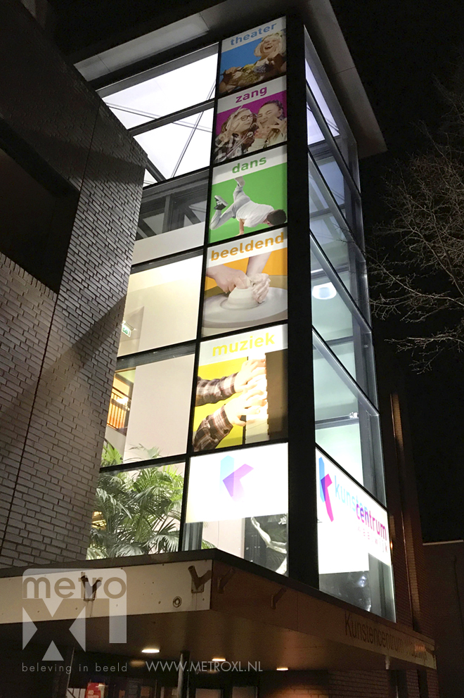 Transparant Full-colour Kunst centrum waalwijk