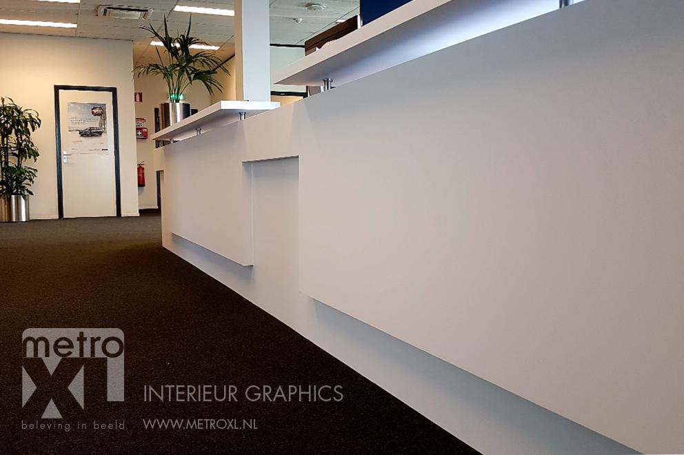 Balie renovatie Alphabet Breda