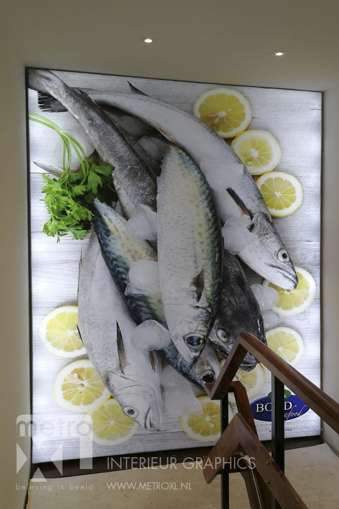 Lumiwall Bond seafood vis