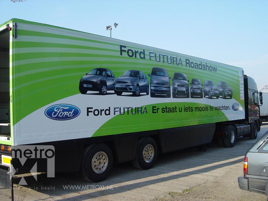 Full-colour vrachtwagen Ford