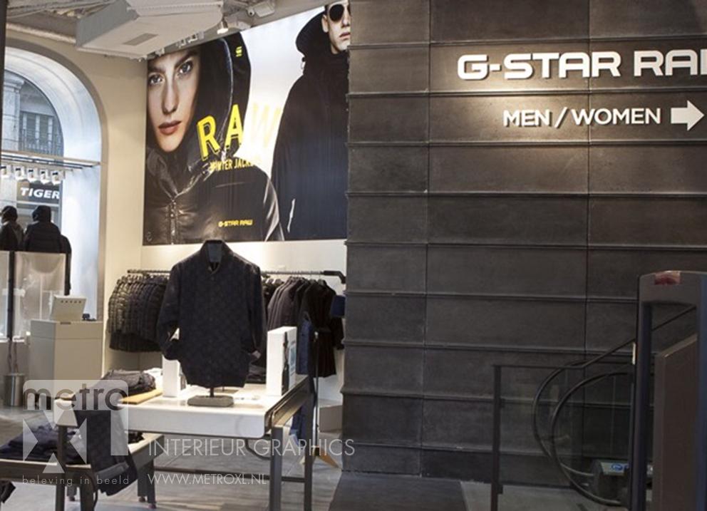 Lumiwall G-Star RAW mode kleding