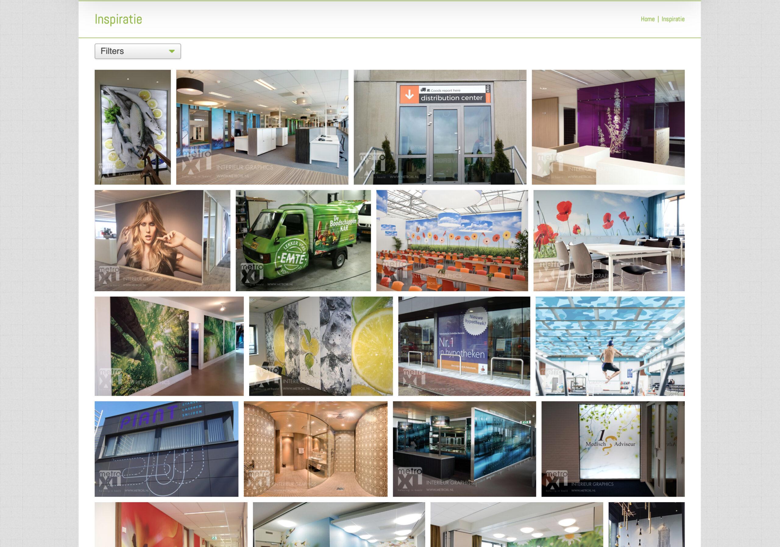 inspiratie van MetroXL projecten voorbeelden producten